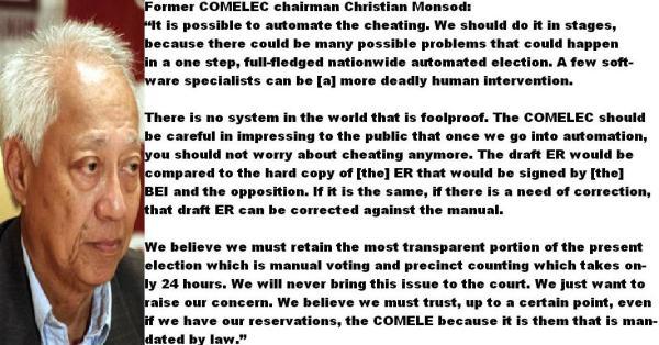 monsod-on-automated-polls