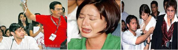 HAYDEN DOUSED KATRINA CRIES AT HEARING MONTAGE