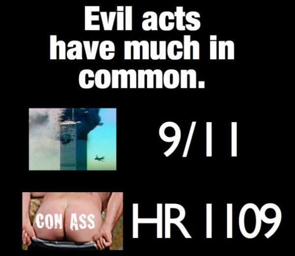 9 11 AND CON ASS LOGO