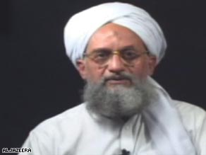 Al Qaeda leader Ayman al-Zawahir