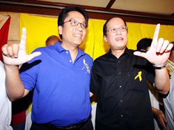 mar noynoy at club sept 1 star