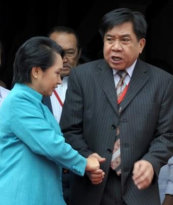 PHILIPPINES-POLITICS-ARROYO