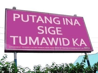 putangina billboard