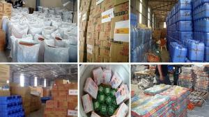 dswd relief goods stockpile montage 1