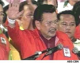 Estrada swearing