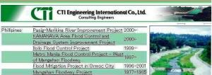 JAP ENGINEERING FIRM PROSPECTUS ON RP FLOOD PROJECTS montage