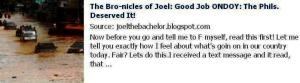 JOEL ECHAVE FB LINK TO HIS BLOG