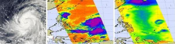 NASA TRACKING OF TYPHOON LUPIT