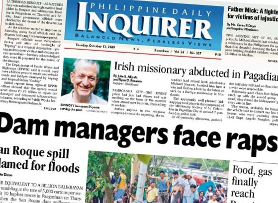 PDI PAGE ONE 20091013 DAM MANAGER CHARGES CROPPED