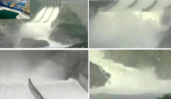 san roque dam release montage