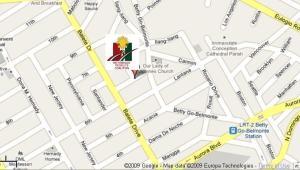 BOUGAINVILLA STREET NPC CLUBHOUSE MAP